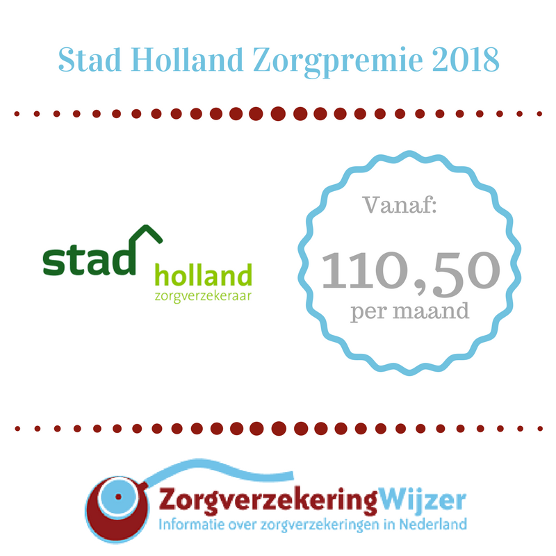 Stad holland zorgpremie 2018